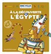À la découverte de l'Egypte - Couverture - Format classique