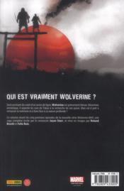 Wolverine max t.1 ; rage permanente - 4ème de couverture - Format classique