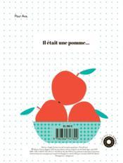 Pomme pomme pomme - 4ème de couverture - Format classique