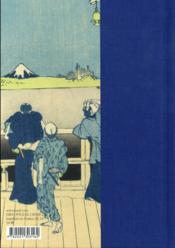 Haïkus du temps qui passe ; estampes d'Hokusai - 4ème de couverture - Format classique