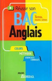 Anglais Terminale Toutes Series - Intérieur - Format classique