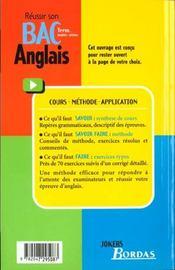 Anglais Terminale Toutes Series - 4ème de couverture - Format classique