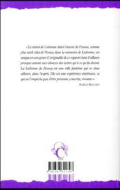 Lisbonne revisitée ; anthologie - 4ème de couverture - Format classique