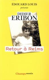 Retour à Reims - Couverture - Format classique