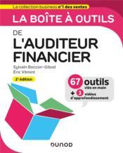La boîte à outils de l'auditeur financier (2e édition) - Couverture - Format classique