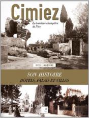 Cimiez, la banlieue champêtre de Nice - Couverture - Format classique