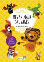 Mes animaux sauvages - Couverture - Format classique