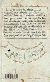 Lambidou Et Autres Contes Bilingues - 4ème de couverture - Format classique