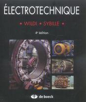 Électrotechnique (4e édition) - Intérieur - Format classique
