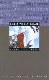 Le Front national - Intérieur - Format classique