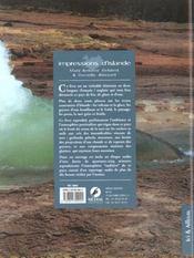 Impressions d'Islande - 4ème de couverture - Format classique