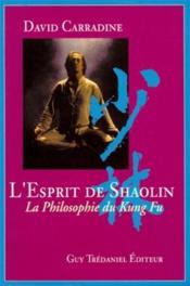 Esprit de shaolin (l') - Couverture - Format classique