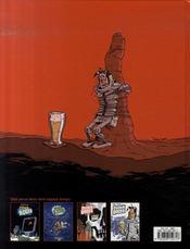 Cosmik Roger t.3 ; cosmik Roger contre le général gore - 4ème de couverture - Format classique