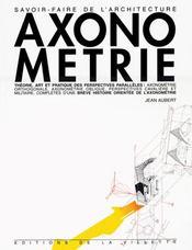 Axonometrie theorie art et pratique - Intérieur - Format classique