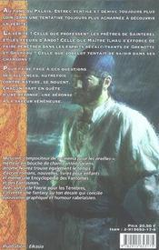 Feerie pour les tenebres/les nuits veneneuses t 2 - 4ème de couverture - Format classique