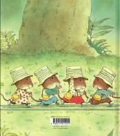 Le train des souris - 4ème de couverture - Format classique