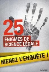 telecharger 25 enigmes de science legale livre PDF en ligne gratuit