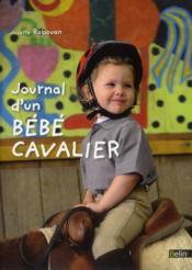Journal d'un bébé cavalier - Couverture - Format classique