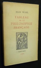 Tableau de la philosophie française - Couverture - Format classique