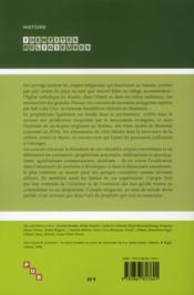 Prophéties et utopies religieuses au Canada - 4ème de couverture - Format classique