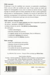 La parole ; Platon, Phèdre ; Marivaux, les fausses confidences ; Verlaine, romances sans parole - 4ème de couverture - Format classique