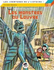 Aventures chez les pharaons ; les monstres du Louvre - Couverture - Format classique