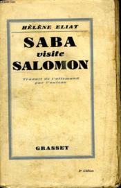 Saba Visite Salomon. - Couverture - Format classique