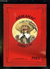 Armanac Gascon 1985. - Couverture - Format classique