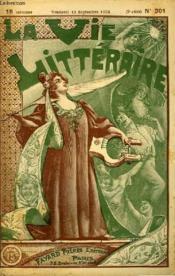 Le Crime. La Vie Litteraire. - Couverture - Format classique