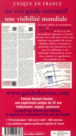 Le guide Dussert-Gerber des vins (édition 2014) - 4ème de couverture - Format classique