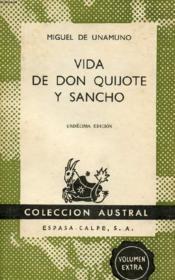 Vida De Don Quijote Y Sancho, Colección Austral, N° 33 - Couverture - Format classique