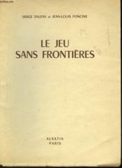 Le Jeu Sans Frontieres - Couverture - Format classique