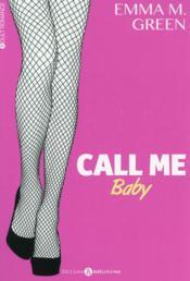 Call me baby t.1 - Couverture - Format classique