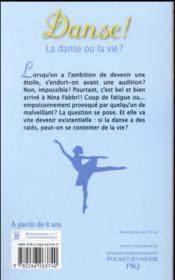 Danse ! T.35 ; la danse ou la vie ? - 4ème de couverture - Format classique