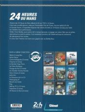 24 heures du Mans ; 1923-1930 ; la naissance d'une légende - 4ème de couverture - Format classique