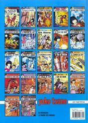 Yoko Tsuno T.4 ; aventures électroniques - 4ème de couverture - Format classique