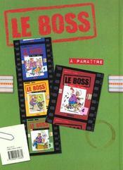 Le Boss T.3 ; Www. Le Boss . Com - 4ème de couverture - Format classique