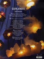 Guirlandes lumineuses ; 70 créations - 4ème de couverture - Format classique