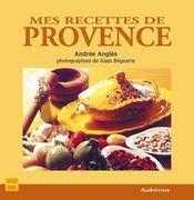 Mes recettes de provence - Intérieur - Format classique