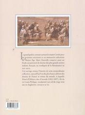Trésors du cabinet des desssins du musée Condé à Chantilly - 4ème de couverture - Format classique