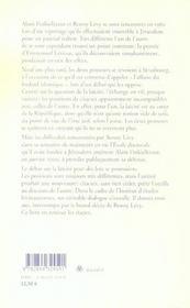 Le Livre Et Les Livres. Entretiens Sur La Laicite - 4ème de couverture - Format classique