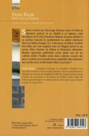 Mon nom est Salma - 4ème de couverture - Format classique