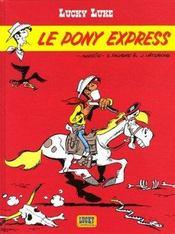 Lucky Luke T.59 ; le pony express - Intérieur - Format classique