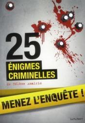 telecharger 25 enigmes criminelles livre PDF en ligne gratuit