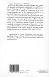 C'était Georges Pompidou - 4ème de couverture - Format classique