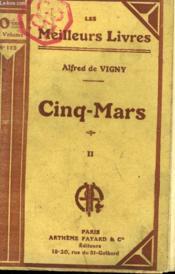 Cinq Mars. Tome 2 . Collection : Les Meilleurs Livres N° 113. - Couverture - Format classique