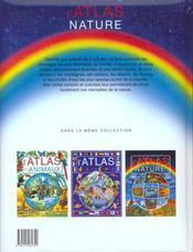 Atlas Nature - 4ème de couverture - Format classique