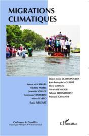 REVUE CULTURES & CONFLITS ; migrations climatiques - Couverture - Format classique