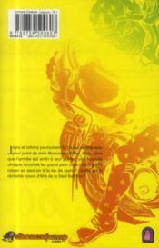Jojo's bizarre adventure - saison 7 ; steel ball run T.5 - 4ème de couverture - Format classique