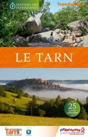 Les sentiers des patrimoines Tarn - Couverture - Format classique